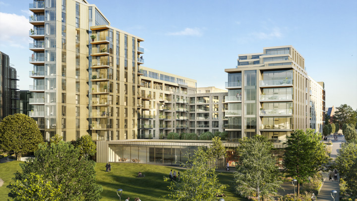 Photo of Heron Quarter at Woodberry Down