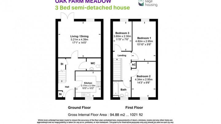 43 Oak Farm Meadow