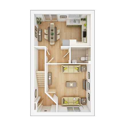 Shared Ownership At Flying Fields Warwickshire Cv47 1nw